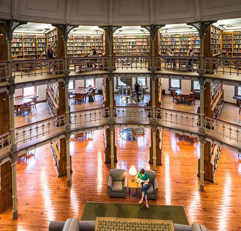 Linderman Library at Lehigh University